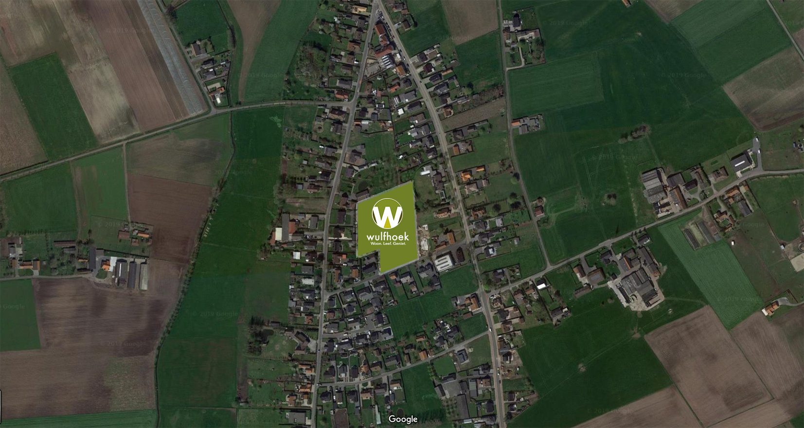 Luchtbeeld - Wulfhoek